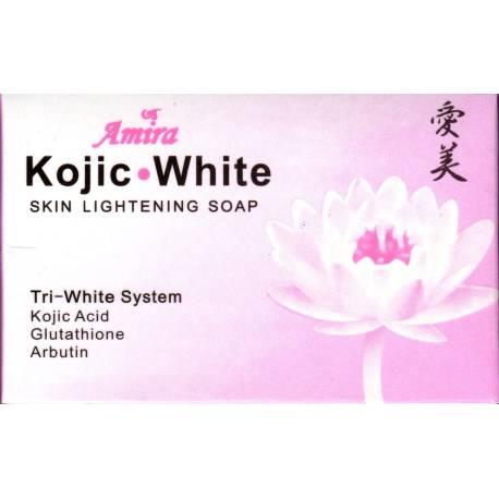 amira kojic white skin lightening soap