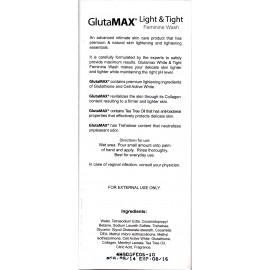 GlutaMAX Light and Tight - Feminine wash