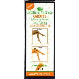 nature secréte carotte sérum éclaircissant anti-age