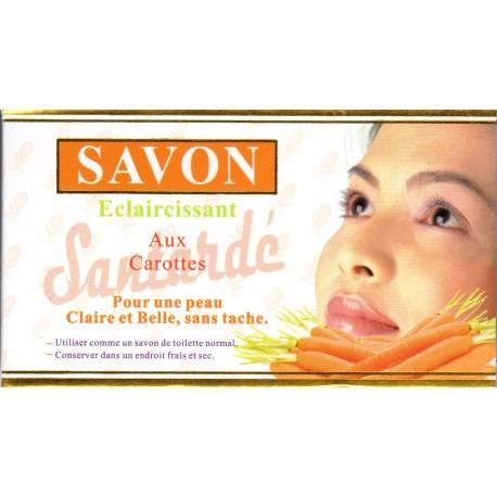 Santardé savon éclaircissant aux carottes