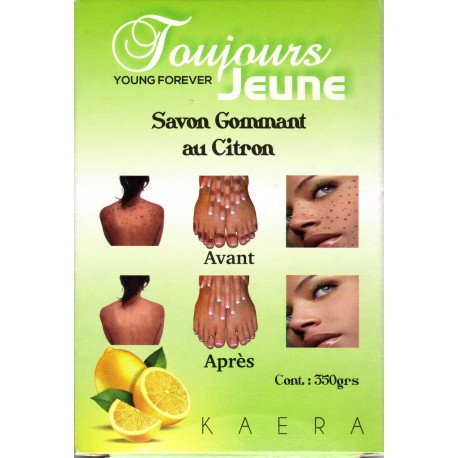 Toujours Jeune Exfoliating Soap with lemon