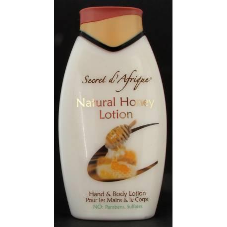 Secret d'Afrique Natural Honey Lotion pour les mains et le corps