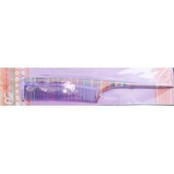 Peigne à queue multicolore