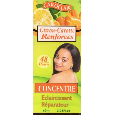 Caroclair concentrated reinforced Lemon-Carrot