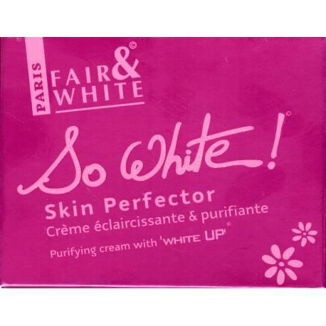 Fair&White So White! Skin Perfector Crème éclaircissante et purifiante