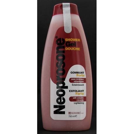 Neoprosone exfoliating and lightening shower gel