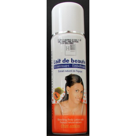 H20 Jours Bleaching Body Lotion with Papaya natural extract