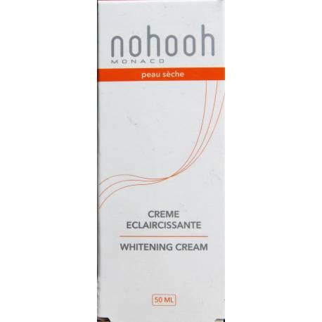 Nohooh Monaco crème éclaircissante peau sèche