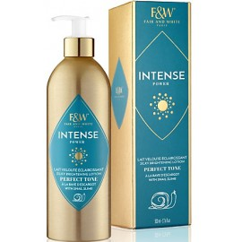 Fair and White Intense Power Silky Brightening Lotion with snail slime