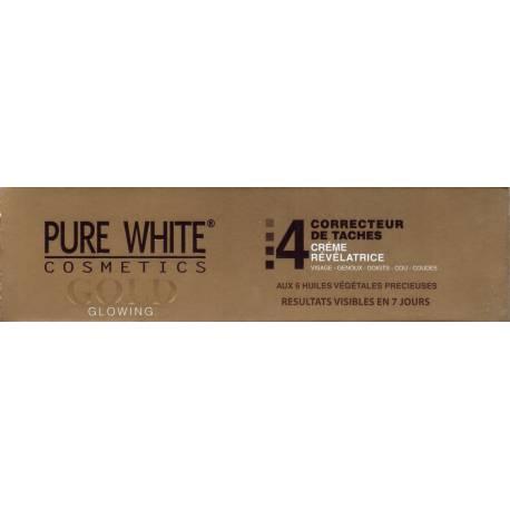 pure white Gold créme