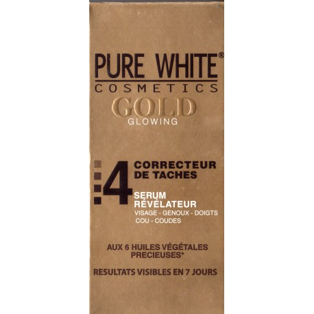 pure white Gold sérum