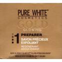 pure white Gold savon