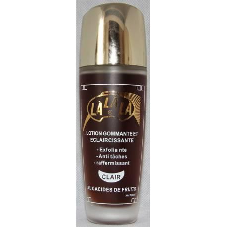 Là Là Là exfoliating and lightening lotion