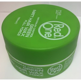 GREEN MATT HAIR WAX