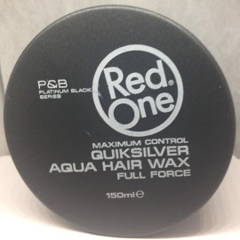 Red One quiksilver aqua hair wax