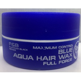 BLUE AQUA HAIR WAX