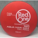 Red One red aqua hair wax