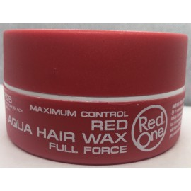 RED AQUA HAIR WAX
