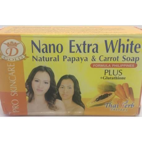 Nano Natural Papaya & Carrot Soap