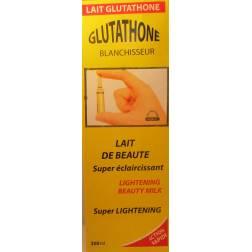glutathone blanchisseur lait super éclaircissant