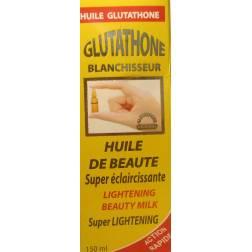 glutathone blanchisseur huile super éclaircissant