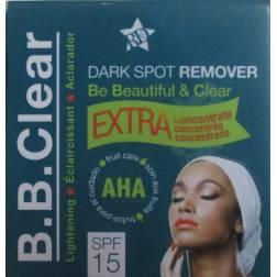 b.b.clear créme soin éclaircissant visage