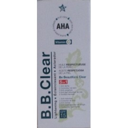 b.b.clear huile respectueuse de la peau
