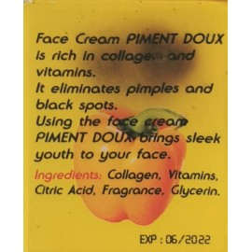 piment doux plus crème de vissage