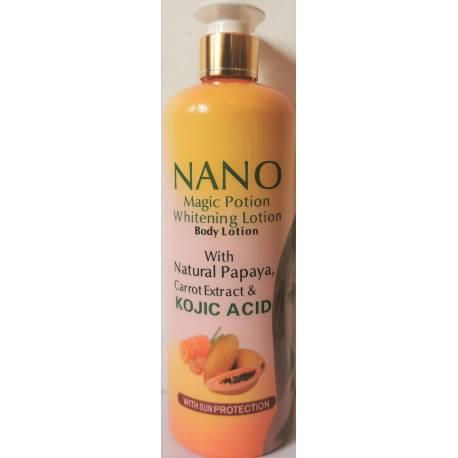 nano magic potion lait eclaircissant