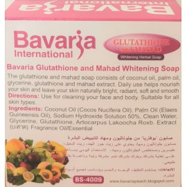 bavaria international glutathione savon