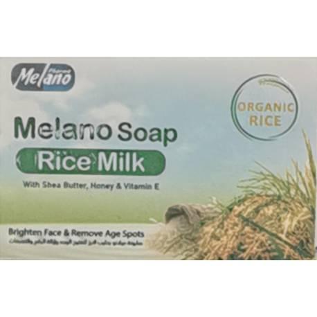 melano savon lait de riz