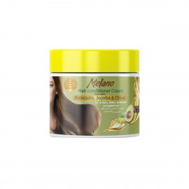 Melano Hair Conditioner Cream Rich with Avocado, Jojoba & Olive