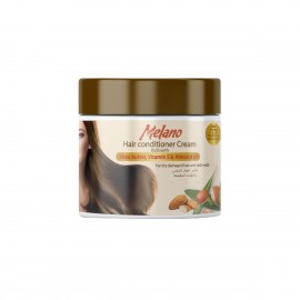 Melano Hair Conditioner Cream Rich with Shea butter, Vitamin E & Almond Oil