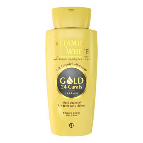 Vitamin white lait corporel multi vitaminé un teint sans taches