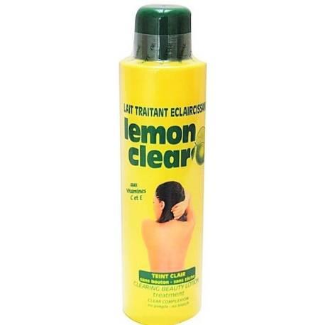 Lemon clear lait traitant eclaircissant