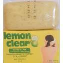 lemon clear savon de beauté traitant et exfoliant