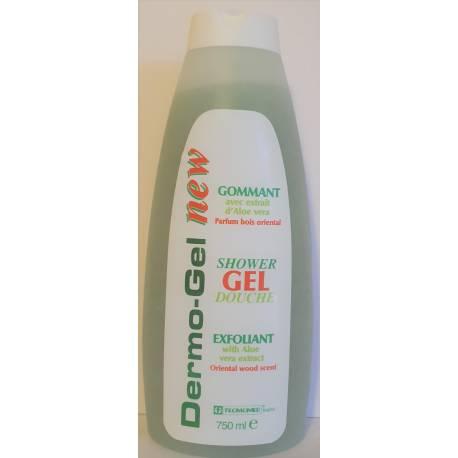 Dermo-gel gommant avec extrait d'aloe vera