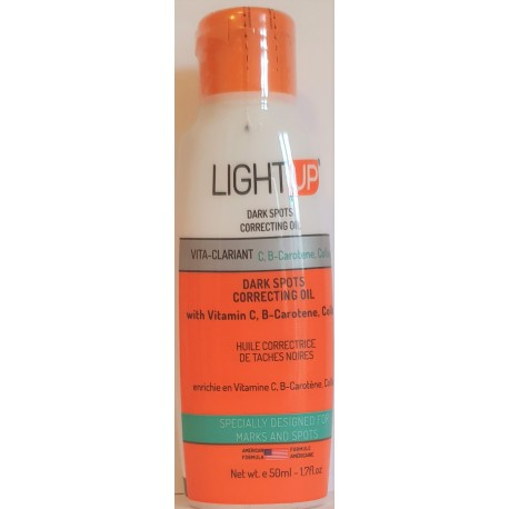 Light up dark spot correcting oil