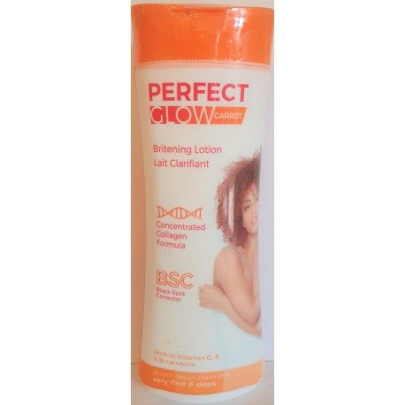 Perfect glow carrot Lait clarifiant