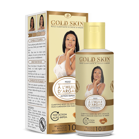 gold skin huile clarifiant a l'huile d'argant