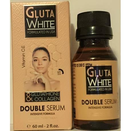 gluta white double serum