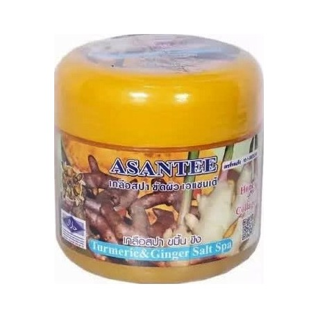 Asantee Curcuma & Gingembre Salt Spa