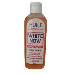 white now huile super rapide